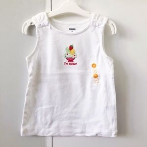 Gymboree Ice cream sundae tank top - NWT Size 3T